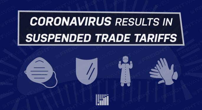 Coronavirus Results In Suspended Trade Tariffs