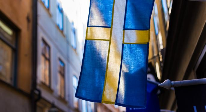 Sweden's Riksbank Becomes First Central Bank To Exit Negative Repo Rates