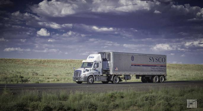 Sysco Shifts Fleet To Grocery Supply Chain During Coronavirus Slowdown