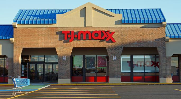 Wells Fargo Calls A Peak In Discount Retail, Downgrades TJ Maxx's Parent Co.