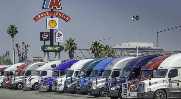 Reflecting Strong Trucking Market, TA Sold Huge Amounts Of Diesel In Q4 2020