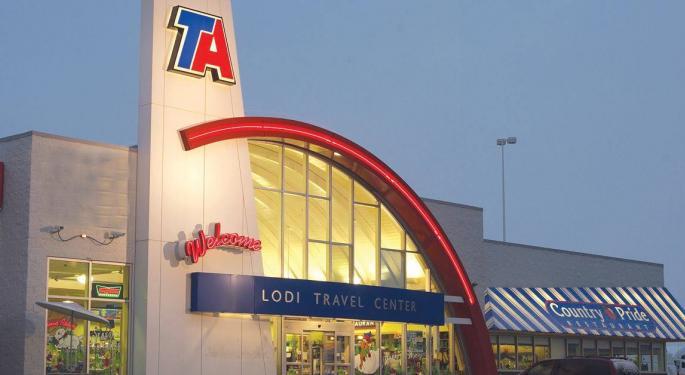 TravelCenters Posts First-Quarter Loss Despite Rising Fuel Volumes, Revenues