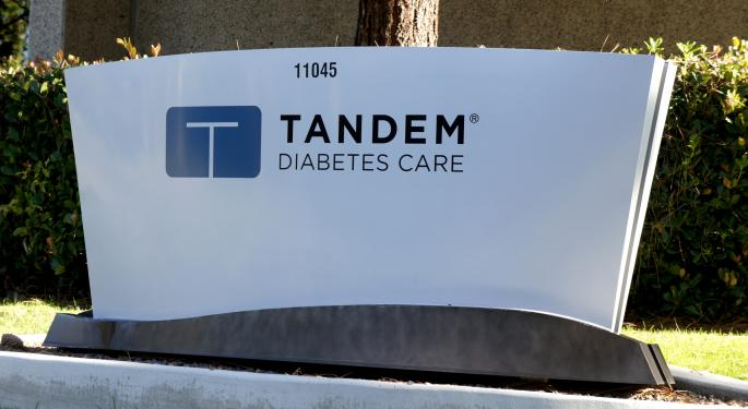 Oppenheimer: After FDA Approval Of Tandem's Insulin Pump, Investor Focus Will Shift To 2018 Opportunities