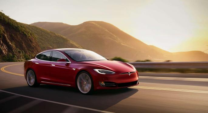 If You Invested $1,000 In Tesla Stock One Year Ago, Here's How Much You'd Have Now