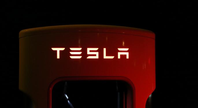 Why Tesla's Stock Is Trading Lower Today