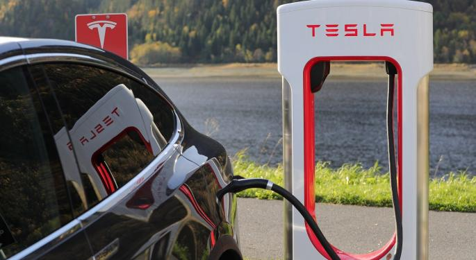 This Study Shows Tesla Leading The Charge In Online Car Sales