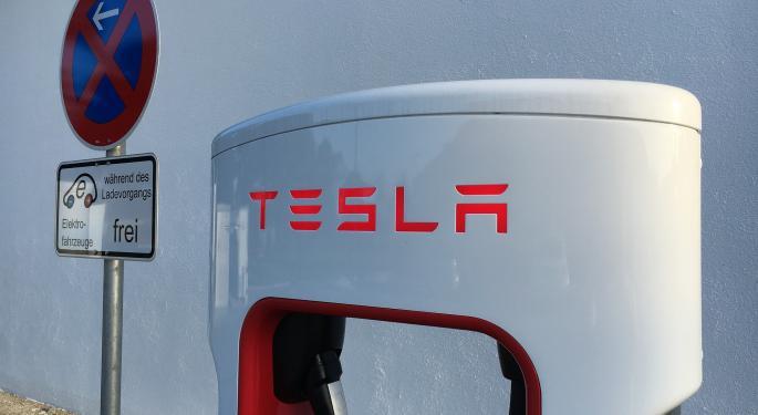 CFRA Research Downgrades Tesla, Sees Risks Ahead After Huge Run