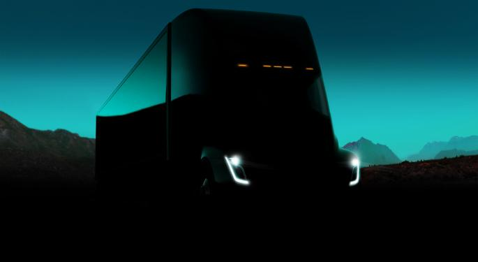 Analyst: WABCO Could Get A Boost From Tesla's Semi