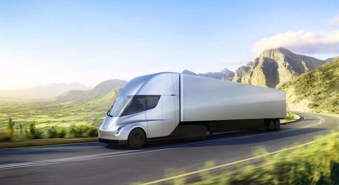 New Battery Cells Could Give Tesla Semi More Than 600 Miles Of Range