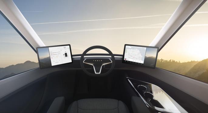 Battery Constraints A Drag On The Tesla Semi