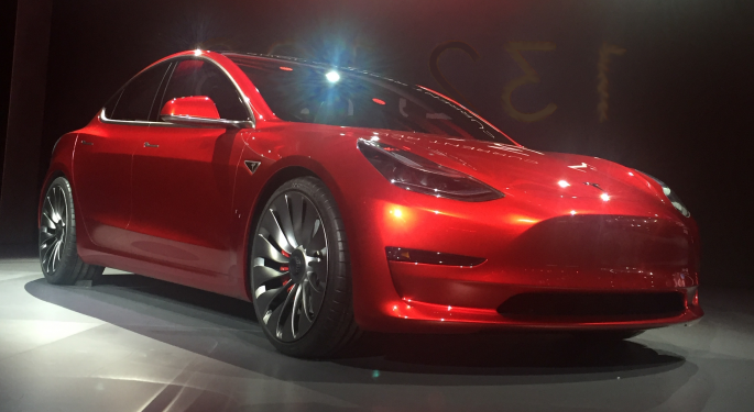 Skeptical Of Model 3, Goldman Now Sees 50% Downside For Tesla