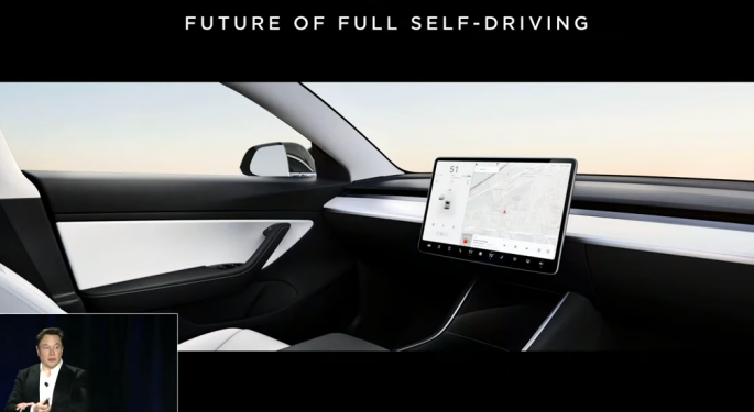 Tesla Forecasts Autonomous Robotaxis In 2020
