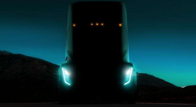 Merrill Lynch: Tesla Semi Announcement Could Be A Reason To Buy Allison Transmission