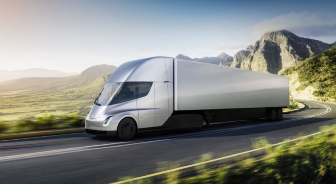 The Future Of Trucking? Wall Street Weighs In On Tesla Semi, Roadster Unveiling