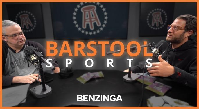 Barstool Sportsbook Has Been A Big Success And Dave Portnoy 'Couldn't Be Happier'