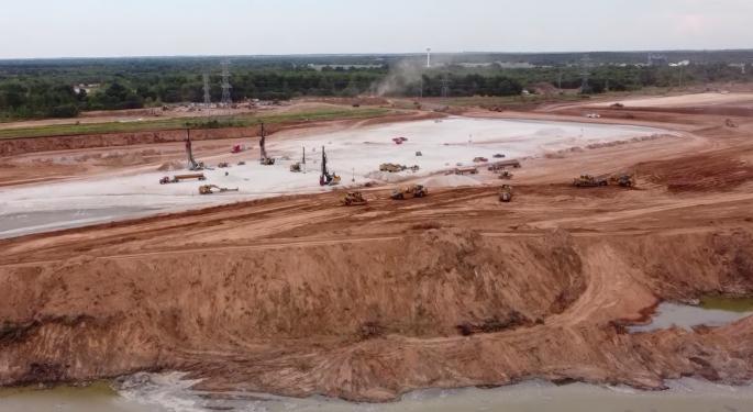 Drone Video Shows Progress On Tesla's Gigafactory Texas