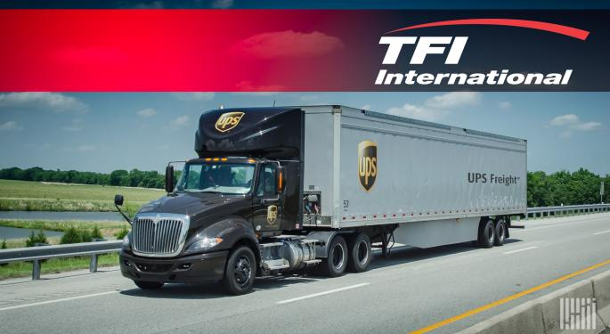 Breaking News: TFI To Acquire UPS Freight For $800M