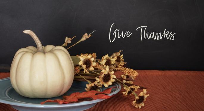 From The Editor: Why I'm Thankful On A Thanksgiving Like No Other