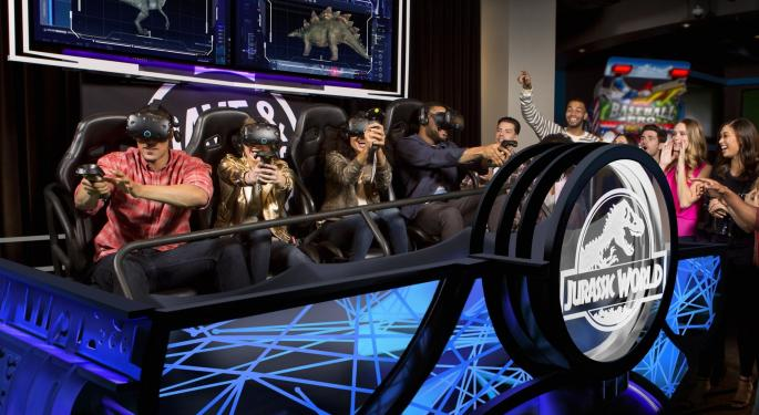 Analysts Rave About Dave & Buster's Amid Q1 Earnings, 'Jurassic World' VR Launch