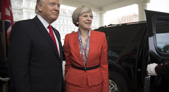 Theresa May Needs Trump's Help In Saving Thousands Of Job