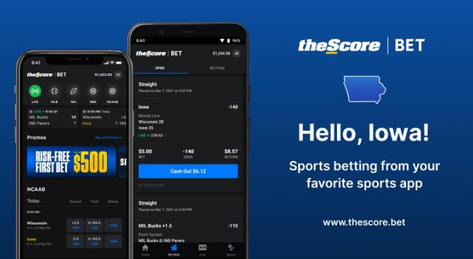 TheScore Files For US Listing Giving Investors Another Sports Betting Investment Option