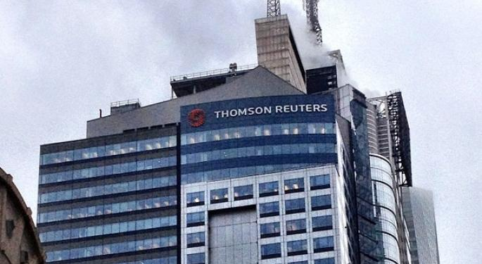 Barclays Underwhelmed By Thomson Reuters' $1 Billion Share Buybacks