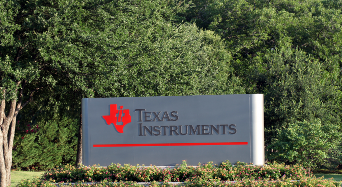 A 'More Extended Correction' Ahead? Texas Instruments Analysts React To Q3 Report