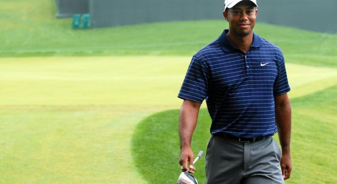 Tiger Woods Still Has 'Halo Effect' On TV Ratings