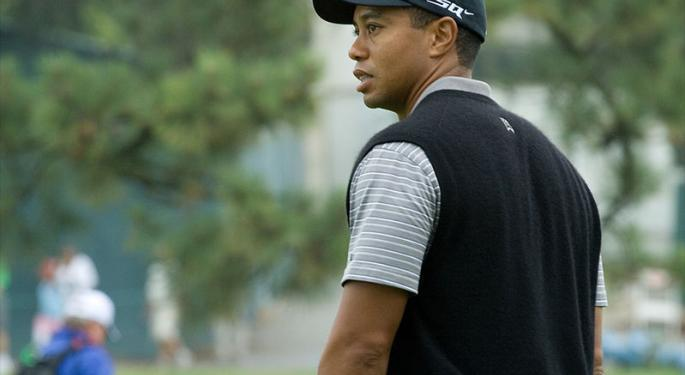 Tiger Woods Signs Video Game Deal With 2K