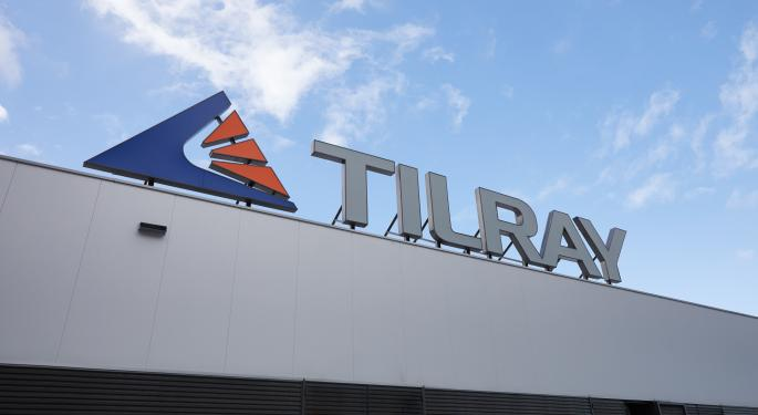 Tilray Reports 26% Revenue Spike For 2020, Plans To Close Aphria Deal In Q2