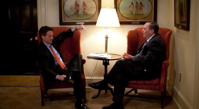 Former U.S. Treasury Secretary Larry Summers Offers Donald Trump Some Tips