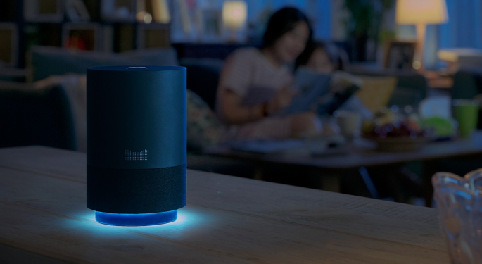 Alibaba Invests $1.4B In AI And Internet of Things Systems For Its Smart Speakers