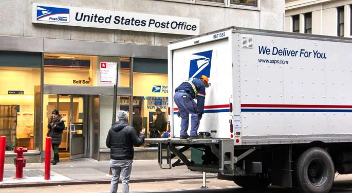 Today's Pickup: US Postal Service Now Does Not Deliver To Roughly Half The World
