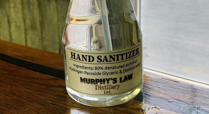 Today's Pickup: Distillery Helps Truckers Stay Safe As It Drops Moonshine For Hand Sanitizer