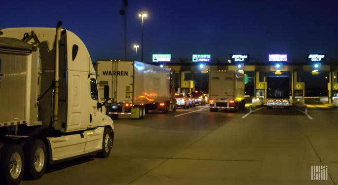Drilling Deep: Toll Collectors Are Handling A Lot Less Money