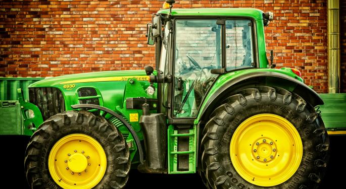 Deere's CEO Talks Trump's Infrastructure Plan And Taxes
