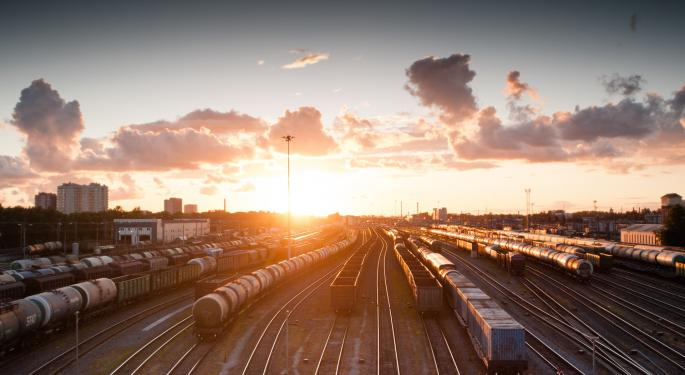 US Rail Volumes Maintain Downward Trend