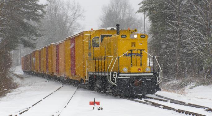 Employee Levels At U.S. Class I Rail Operations Drop