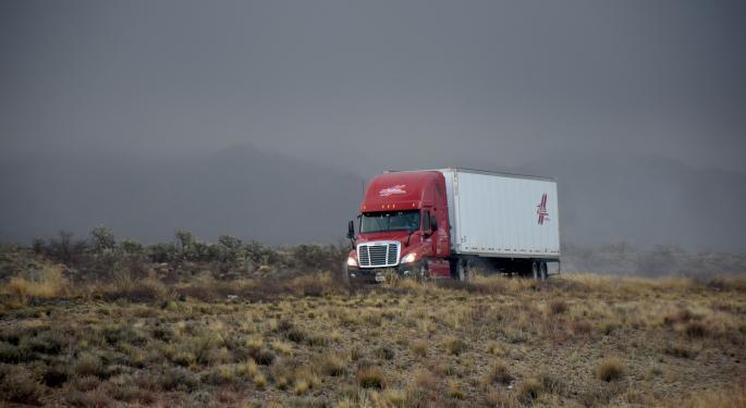 Market Not Buying USA Truck Turnaround; Stock Down 20%