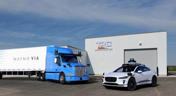 Waymo Deepens Investment In Autonomous Trucking