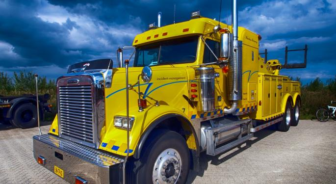 Oppenheimer Lowers Rating On Landstar Citing Low Visibility Into Business Conditions