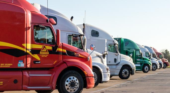Truckload Stocks Looking Past Upcoming Tariffs