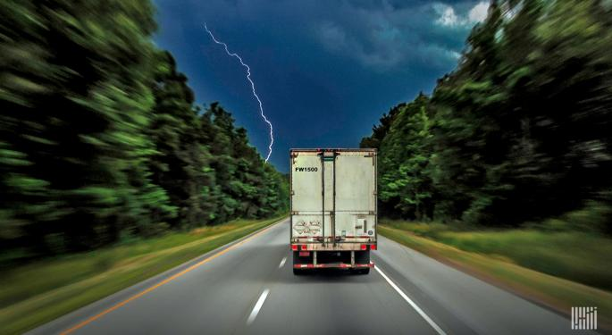 Stormy Week May Slow Down Freight Flows Across The South With Forecast Video