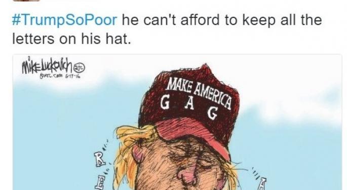 #TrumpSoPoor: Twitter Users Releasing Political Frustrations