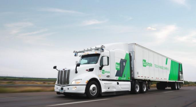 Self-Driving Truck Maker TuSimple Hires Morgan Stanley To Help Raise $250M In Fresh Funding: Report