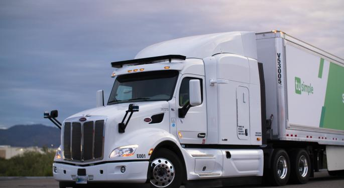 Nikola Chairman In Talks To Back Self-Driving Truck Maker TuSimple: Report
