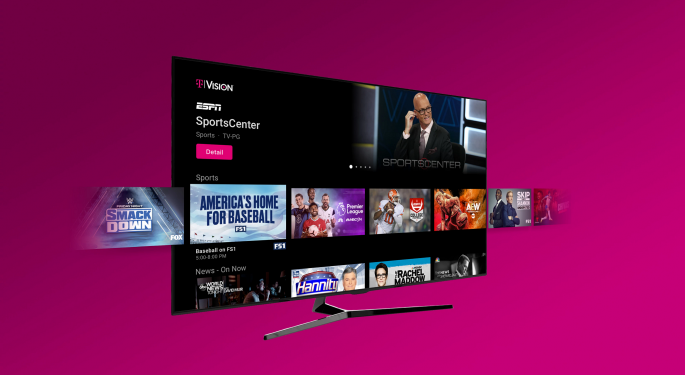 T-Mobile Unveils Cord-Cutting TV Plans To Take On YouTube, AT&T