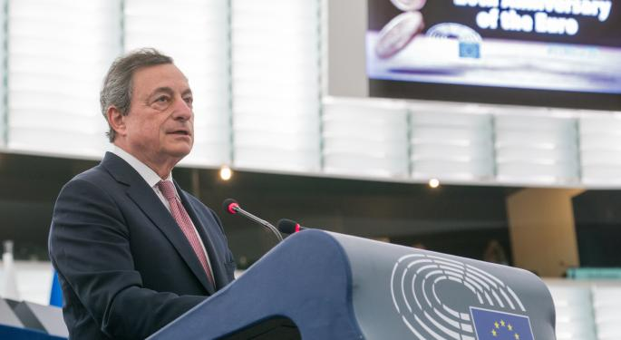 As Draghi Exits ECB, More Signs Of Struggle In German Economy