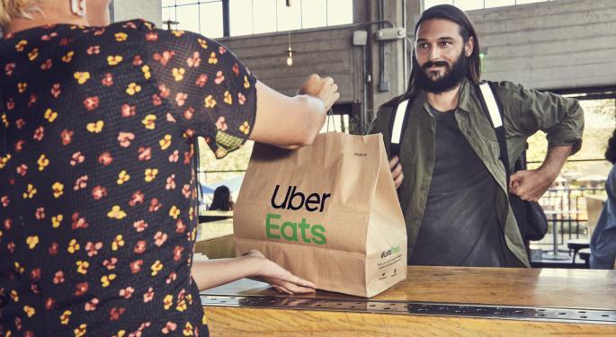 Eats, Delivery Pushing Uber Toward Profitability