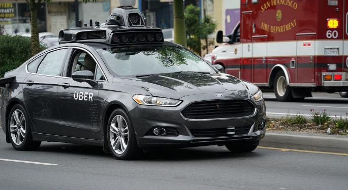 Uber To Offload Self-Driving Unit To Amazon-Backed Startup Aurora